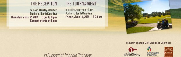 Durham Entertainment Group Hosts Fundraiser Concert in Conjunction with the Triangle Golf Challenge